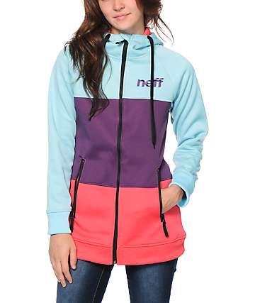 Neff Daily Stripe Shredder Tech Fleece Jacket