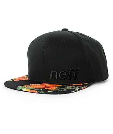 Neff Daily Vapay Floral Snapback Hat
