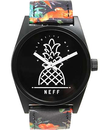 Neff Daily Vapay Woven Analog Watch