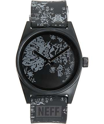 Neff Daily Wild Floral Analog Watch