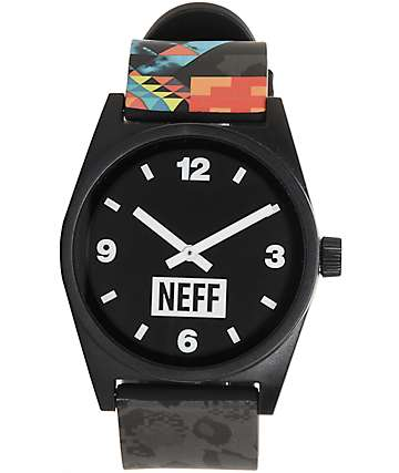 Neff Daily Wild Psychosafari Watch