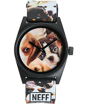 Neff Daily Wild Puppy Analog Watch