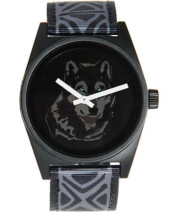 Neff Daily Wolf Woven Analog Watch