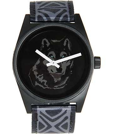Neff Daily Wolf Woven Analog Watch
