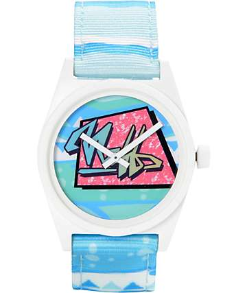 Neff Daily Woven Summer Haze Analog Watch