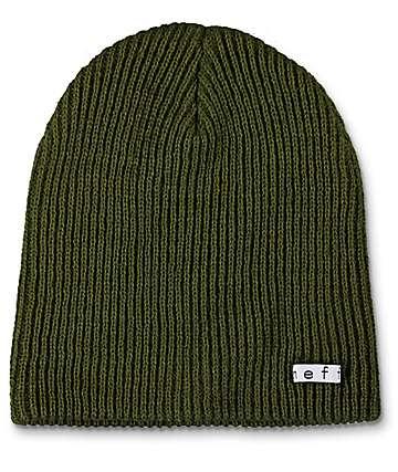 Neff Daily gorro en verde militarFatigue Green Beanie