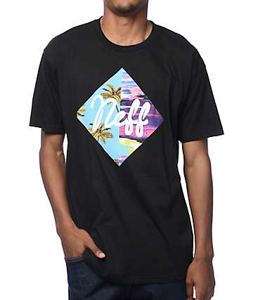 Neff Diamond Summer Black T-Shirt