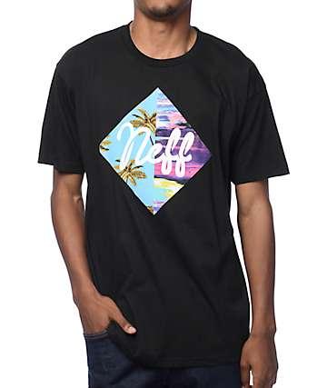 Neff Diamond Summer camiseta negra