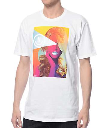 Neff Domino camiseta blanca