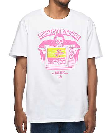Neff Doomed To Consume camiseta blanca