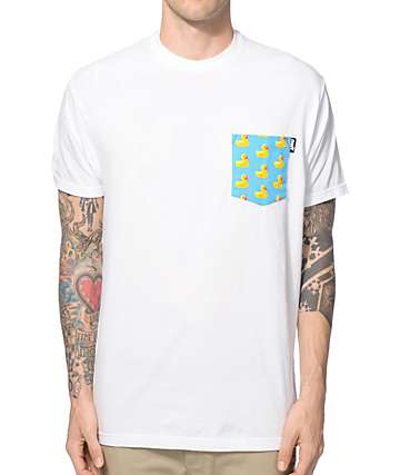 Neff Ducky Pocket T-Shirt