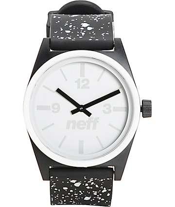 Neff Duo Speckle reloj negro