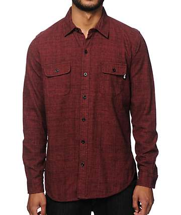Neff Dusty Long Sleeve Button Up Shirt