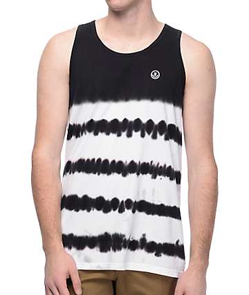 Neff Dye Stripes Black Tank Top