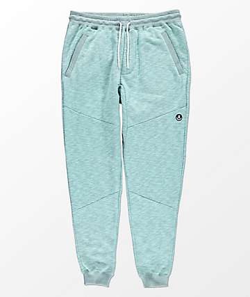 Neff Erryday Swetz Heather Teal Jogger Pants