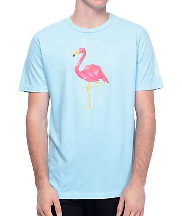 Neff Facetes Flamingo Teal T-Shirt