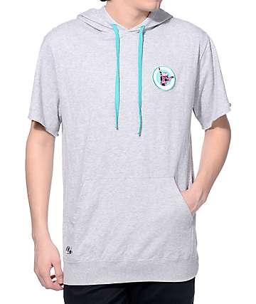 Neff Farley Grey Short Sleeve Hoodie