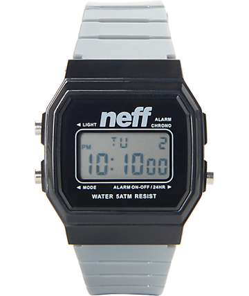 Neff Flava Grey Digital Watch