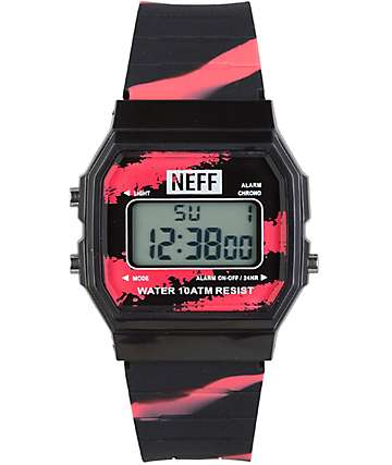Neff Flava Tiger Blood Digital Watch