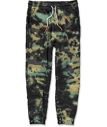 Neff Fletcher Camo Wash Knit Jogger Pants