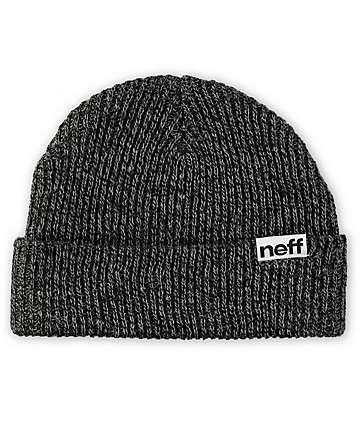 Neff Fold Black & Grey Beanie