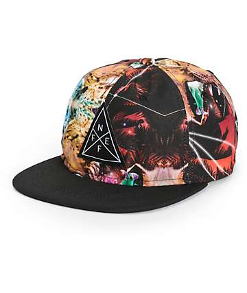 Neff Freaking Destruction Snapback Hat