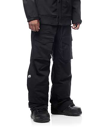 Neff Gnargo Black 10K Snowboard Pants
