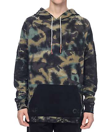 Neff Grimes Camo Wash Pullover Hoodie