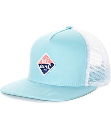 Neff Heidi Light Blue Trucker Hat