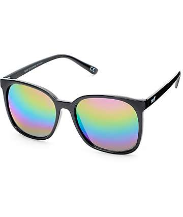 Neff Jillian Black Rainbow Sunglasses