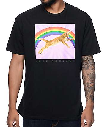 Neff Kitticorn Black T-Shirt