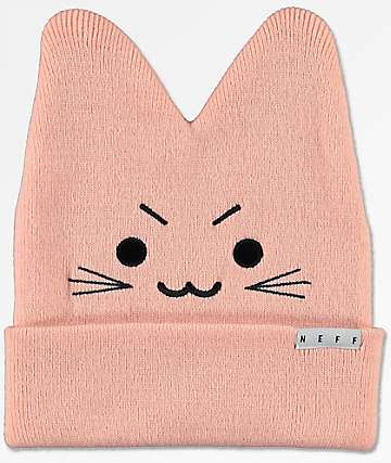 Neff Kitty Peach Beanie