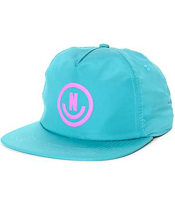 Neff Neffection Teal Snapback Hat