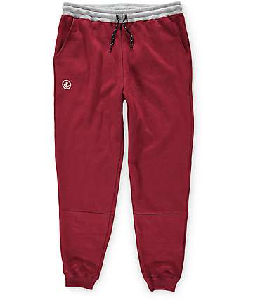 Neff PE Swetz Burgundy Sweatpants