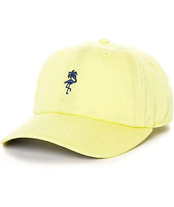 Neff Palm Breeze 6 Panel Yellow Hat
