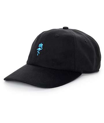Neff Palm Breeze Black Strapback Hat