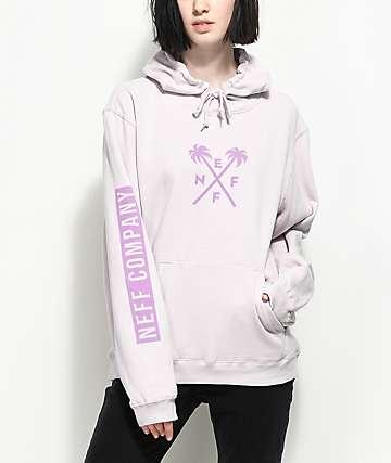 Neff Palms Lavender Hoodie