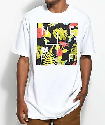 Neff Plus Floral Box camiseta blanca
