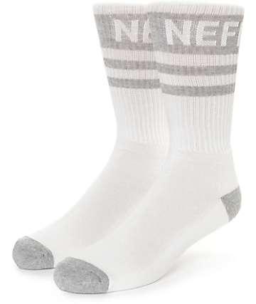 Neff Promo White & Glacier Crew Socks