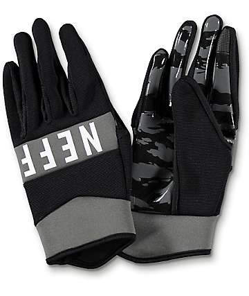 Neff Ripper Black Pipe Snowboard Gloves