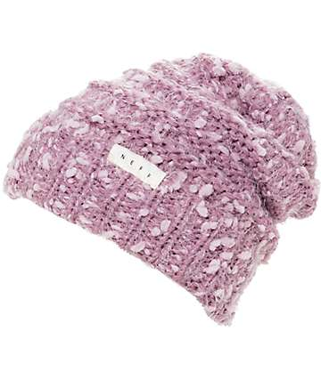 Neff Rose 2 Pale Pink Slouch Beanie