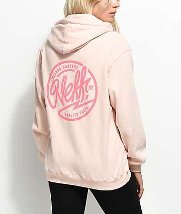 Neff Rounder Pink Hoodie