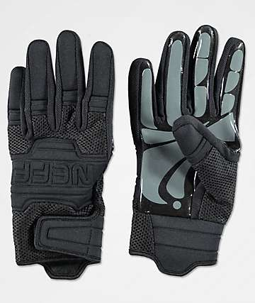 Neff Rover Black Pipe Snowboard Gloves