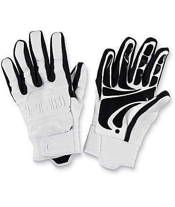 Neff Rover Pipe guantes de snowboard en blanco y negro