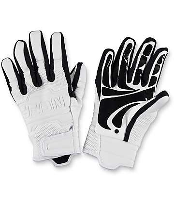 Neff Rover White & Black Pipe Snowboard Gloves