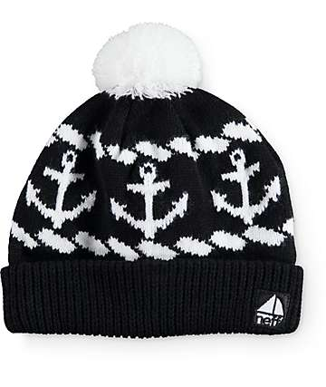 Neff Sailor Black Beanie