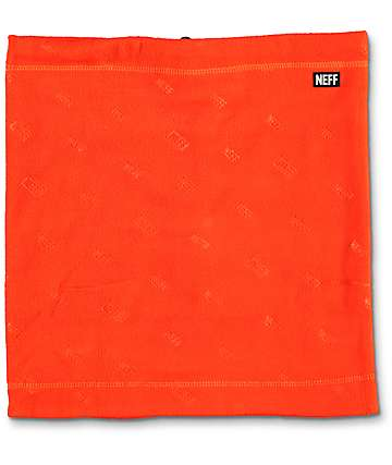 Neff Shield Gator Orange Face Mask