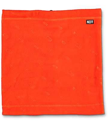 Neff Shield Gator bufanda protectora en color naranja