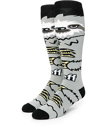 Neff Sloth Snowboard Socks