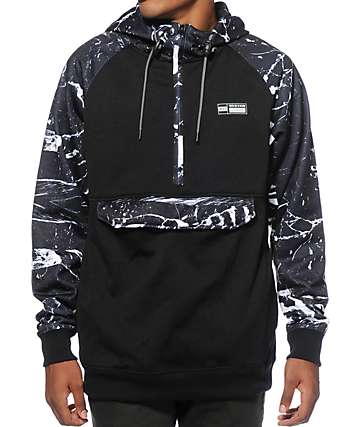 Neff Sport Tech Anorak Tech Fleece Jacket